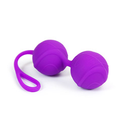 Ben wa balls Kegel exercises