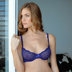 Beauty Boutique blue bra