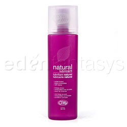 Natural lubricant - water based lube