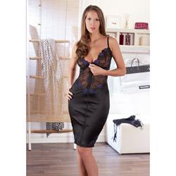 Zip front dress - maxi dress