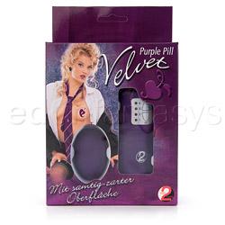 Egg - Velvet purple pill - view #5