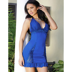 Royal blue babydoll