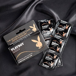 Ultra thin lubricated condoms