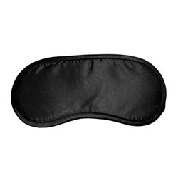 Blindfold - Satin black blindfold - view #1