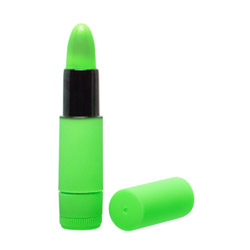 Neon luv touch lipstick vibe - discreet massager