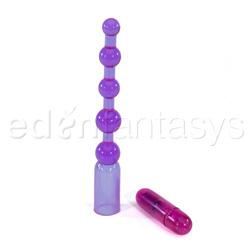 Vibrating anal beads