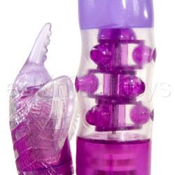 Conejo vibrador - Classix beginner's jelly pearl - view #3
