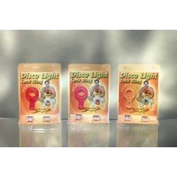 Disco light c/ring - pink - DVD