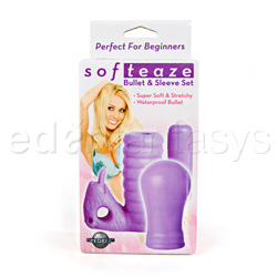 Vibrator kit  - Softeaze bullet and sleeve set - view #4