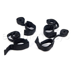 Fetish Fantasy cuff and tie set - wrist and ankle cuffs