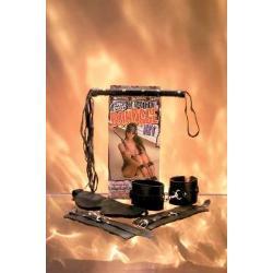 Leather bondage kit - deluxe - DVD