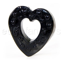 Cock ring - Heart on luv ring - view #1