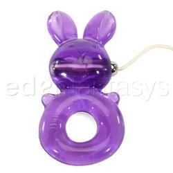 Rabbit clitoral stimulator - Cock ring