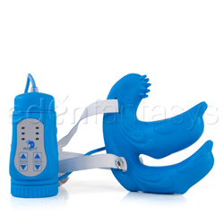 Triple stimulator dolphin duo - double penetration vibrator