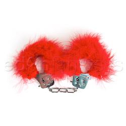 Handcuffs - Feather love cuffs - view #3