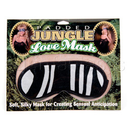 Zebra love mask