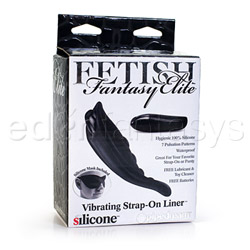 Clitoral vibrator - Fetish Fantasy Elite vibrating strap-on liner - view #4