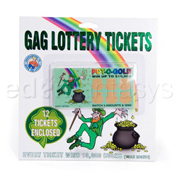 Gag lottery tickets - Gags