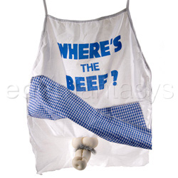 Gags - Where's the beef apron - view #1