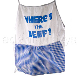 Gags - Where's the beef apron - view #2