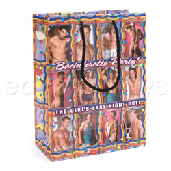 Bachelorette party gift bag - Gags