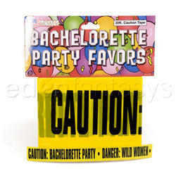Gags - Bachelorette caution tape 20' - view #1