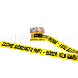 Gags - Bachelorette caution tape 20' - view #3