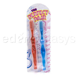 Perfect pair toothbrush - gags