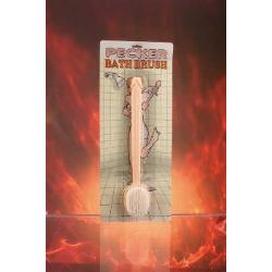 Pecker bath brush - DVD