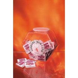 Condoms from cupid(bowl=72pcs) - DVD