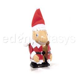 Wind up flashing Santa - Gags
