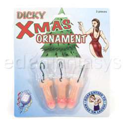Dicky xmas ornaments - gags
