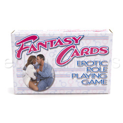 Fantasy card game - adult game
