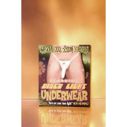 Glow disco light undies - DVD