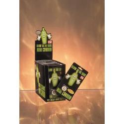 Glow condom mini pecker [24pcs] - DVD