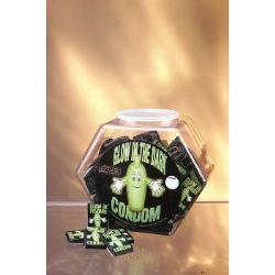 Glow on condoms (144 pcs) - DVD