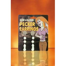 Pecker earrings glow - DVD