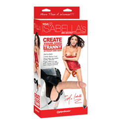 Harness and dildo set - Mia Isabella strap-on kit - view #3