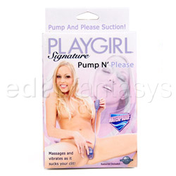 Clitoral pump - Playgirl signature pump n' please - view #5