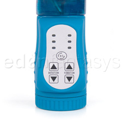 G-spot rabbit vibrator - Playgirl aqua G - view #4