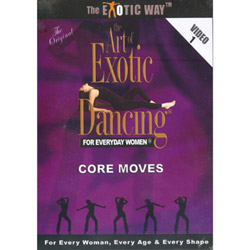 The Art of Exotic Dancing For Everyday Women - DVD
