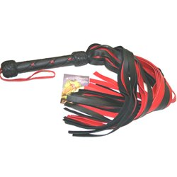 Premium Garment Cow Flogger - flogging toy