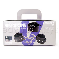 BDSM kit - Leather entrapment kit - view #6