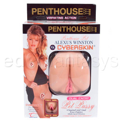 Realistic vagina - Penthouse pet Alexus Winston cyberskin dual entry pet pussy - view #5