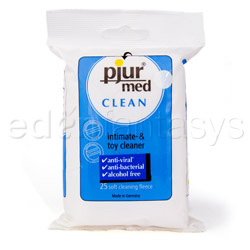 Pjur med clean wipes