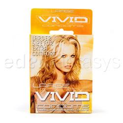 Male condom - Vivid large - view #3