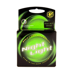 Night light - male condom