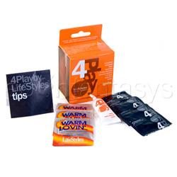 4play ignite - Condom kit