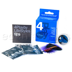 4play tease - condom kit