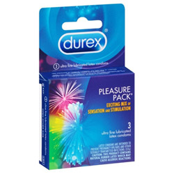 Male condom - Durex pleasure pack - view #5